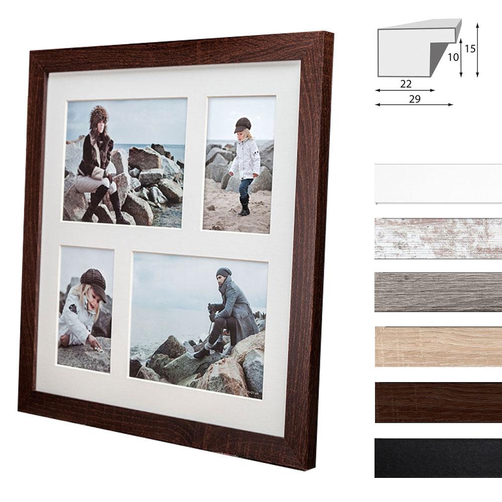 Galerie-Bilderrahmen NARVIK für 4 Bilder