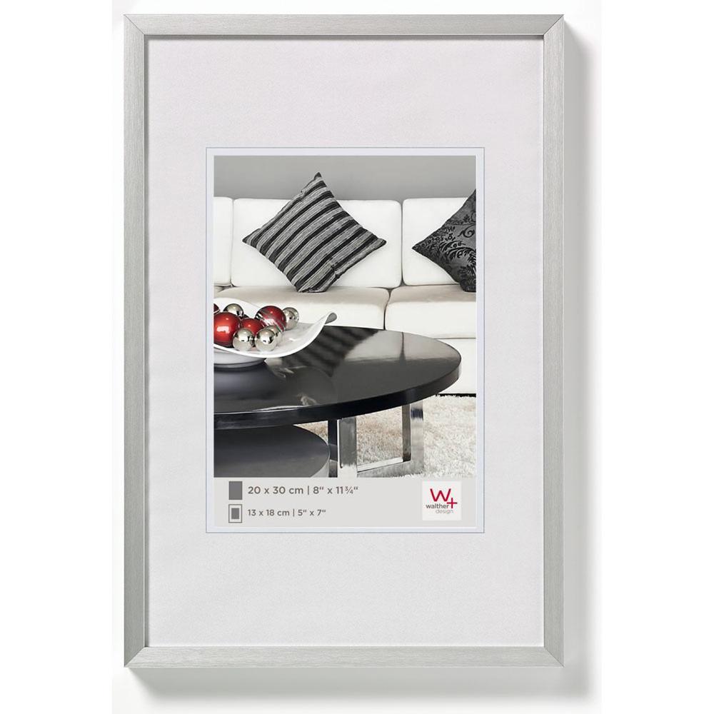 Alurahmen Chair 20x30 cm | silber | Normalglas