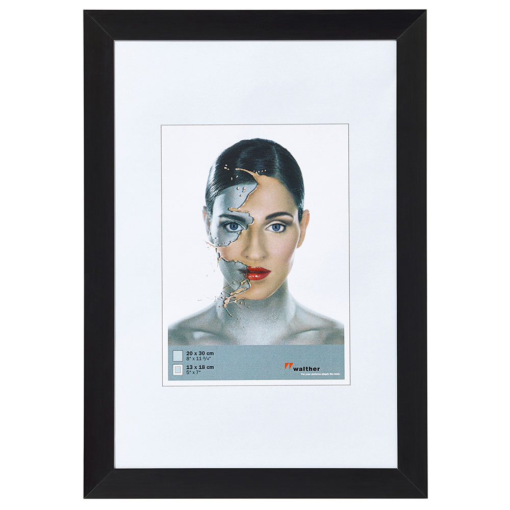 Alurahmen Spacy 10x15 cm | schwarz | Normalglas