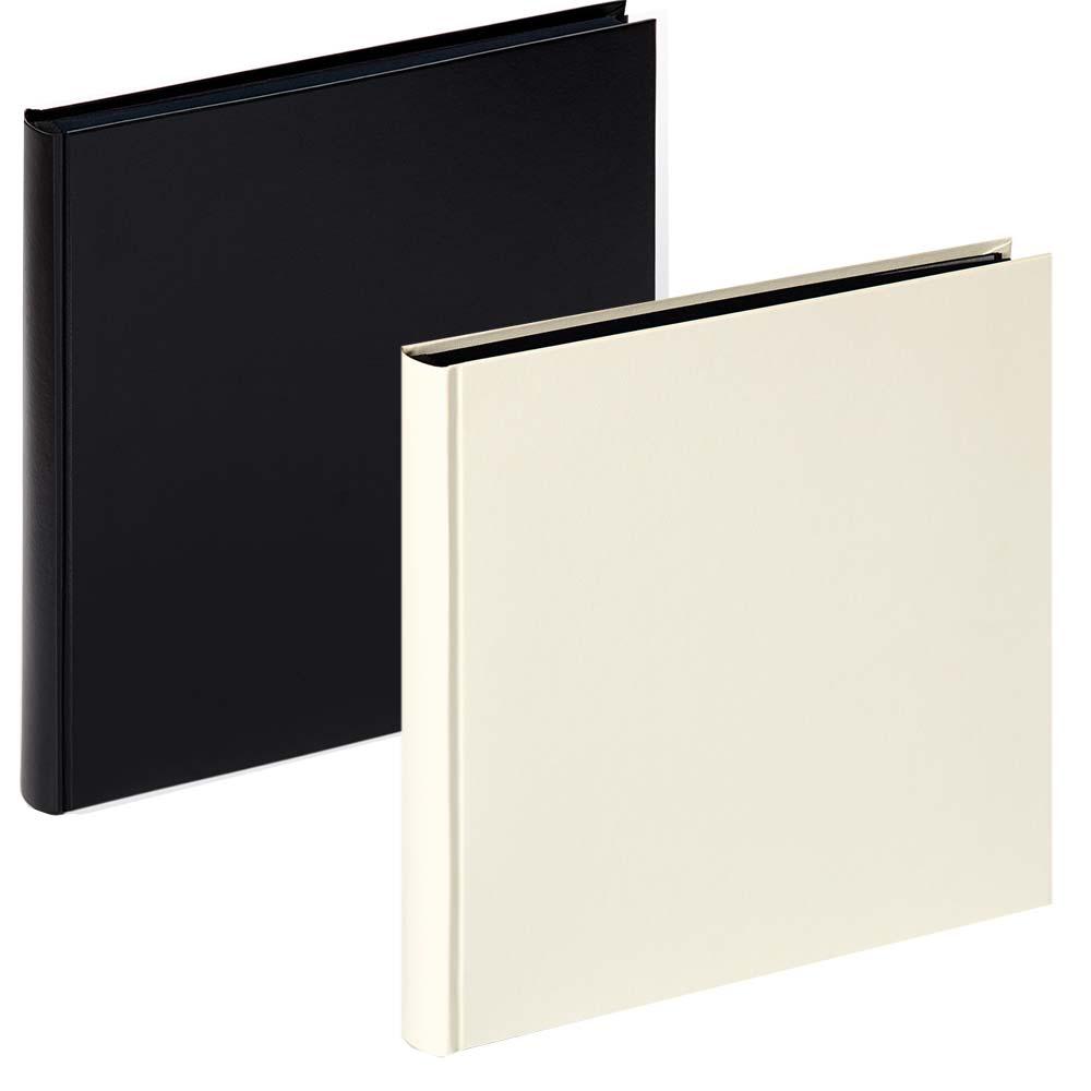 Buchalbum Charm mit 60 schwarzen Seiten