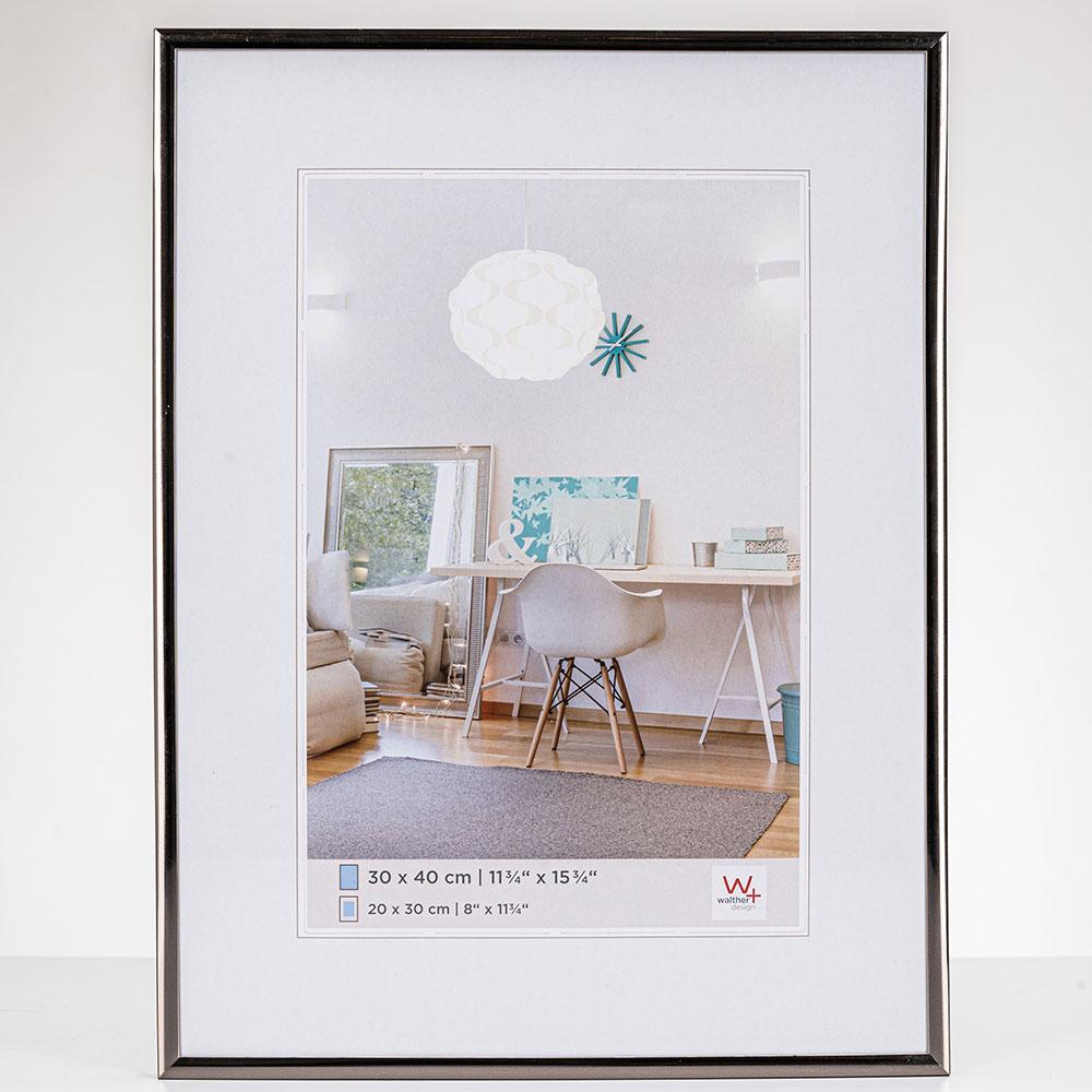 New Lifestyle Kunststoffrahmen 20x30 cm | Stahl | Normalglas