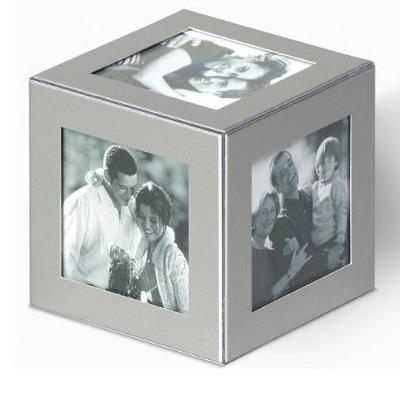 Aluminium Fotowürfel
