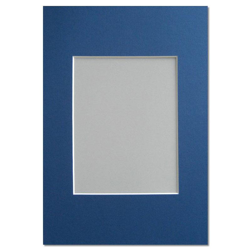 Galerie Passepartout 20x30 cm (13x18 cm) | dunkelblau