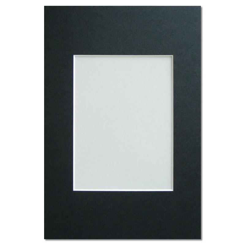 Walther Galerie Passepartout 30x40 (Innen 20x30) - schwarz ...