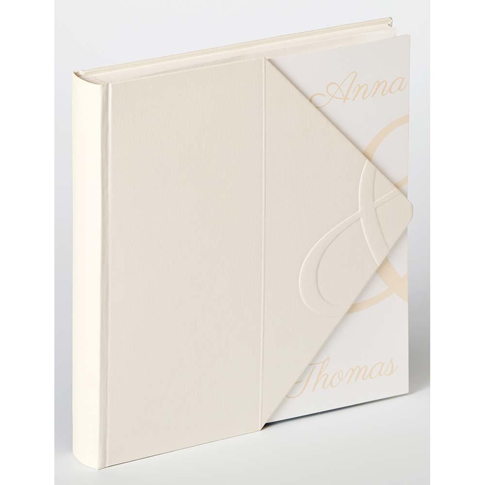 Hochzeitsalbum Carta de amor 28x30,5 cm | weiß