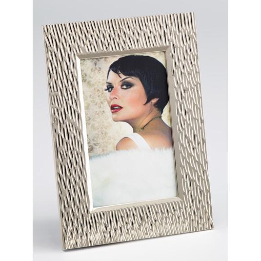 Portraitrahmen Maxime 4 10x15 cm | silber | Normalglas