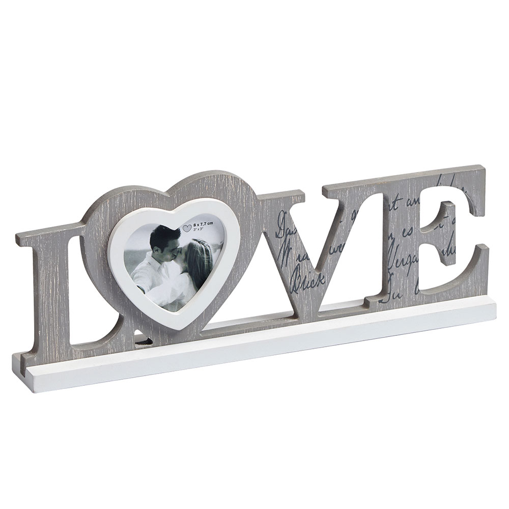 Holzrahmen Love