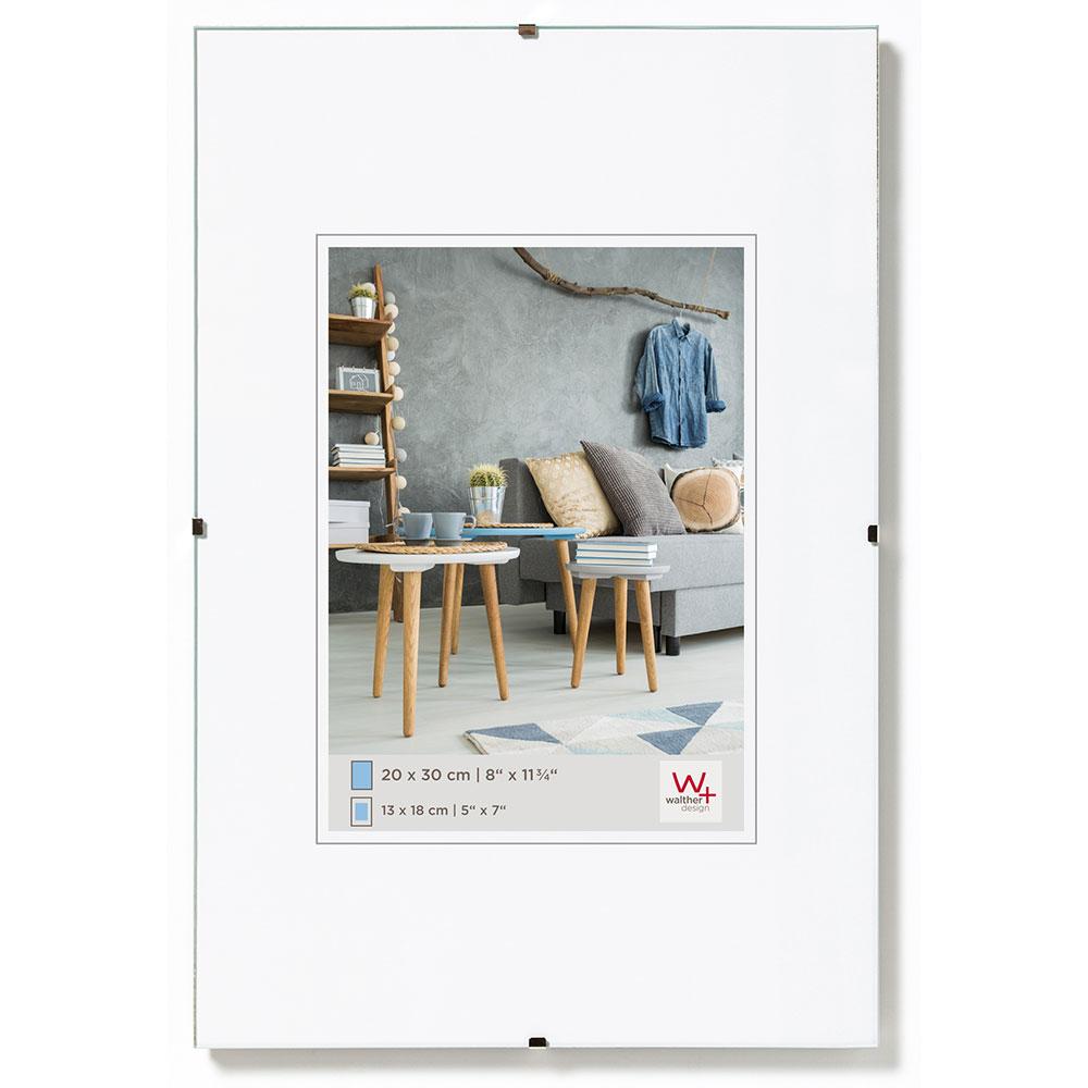 Walther Rahmenlose Bildhalter | Rahmenshop24.com